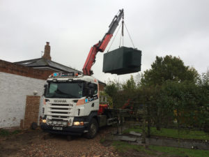Oil tank installation cambridgeshire